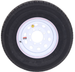 235/80/16 Wheel & Tire Combo White Mod Wheel Contender