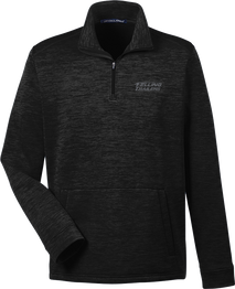 Felling Men's Jones Pullover 1/4 Zip Fleece (Black Heather)