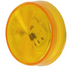 "Peterson Piranha LED 2-1/2"" Round Trailer Clearance Light - 3 Diode - Amber (#162A)"