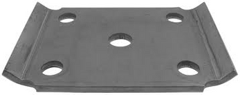 """U BOLT PLATE FOR 6-7K AXLE DOES NOT COME IN KIT, THEY ARE SOLD SEPERATLY  SPRING WIDTH 2""""  9/16""""  U BOLT"""