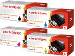 4 Colour Kyocera TK-540 Remanufactured Toner Cartridge Multipack (TK540K/C/M/Y)