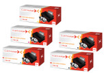 Compatible 5 Colour Hp 125a Cb540a  Cb540a Cb541a Cb542a Cb543a Toner Cartridge Multipack
