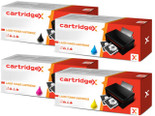 Compatible Set Of 4 Hp 507x / 507a Ce400x Ce401a Ce402a Ce403a Toner Cartridge Multipack
