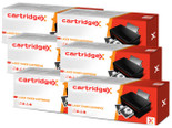 6 X TONER COMPATIBLE WITH HP CB435A 35A HIGH CAPACITY