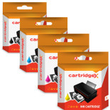 Compatible 4 Colour Brother Lc12e Ink Cartridge Multipack