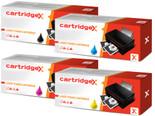 Compatible 4 Colour Hp 130a Toner Cartridge Multipack (Hp Cf350a Cf351a Cf352a Cf353a)