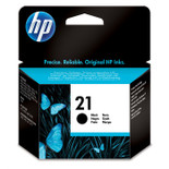 High Capacity Hp 21 Original Black Ink Cartridge (C9351ae)