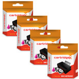 Compatible 4 Colour High Capacity Hp 82 And Hp 10xl Ink Cartridge Multipack (C4911a C4912a C4913a C4844a)