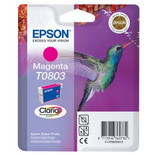 Compatible Epson T0803 Magenta Ink Cartridge (C13t08034010)