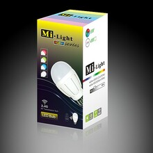 1 Milight RGBW 6W LED Light Bulb - iPhone and Android Controlled