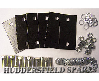 6 point cage plate and bolt kit
