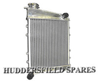 2 core alloy radiator