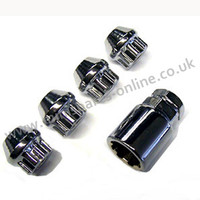 Economy tapered locking wheel nuts