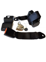Rear Black Seatbelt for Classic Mini