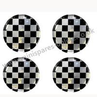 Checker overstickers