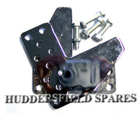 Seat adjuster brackets