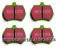 green stuff ebc brake pads