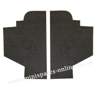 Rear door bin pocket liners for classic Mini