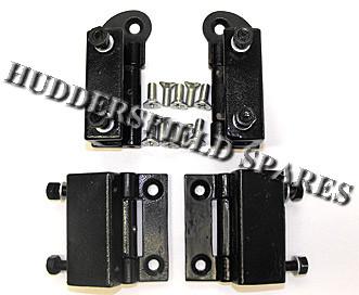 Internal Door Hinges >> Full Set Top And Bottom Late Internal Door Hinges With