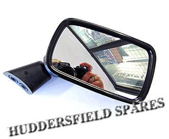 Standard black plastic mirrors