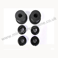 .Rear Subframe bushes late, High grade polyurethane black bushes for classic Mini