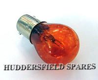 Large amber bulb
