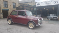 Wine red 1990 low mileage classic Mini