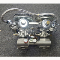 """1"""" 1/2 SU Carburettors Original Complete Reconditioned, Many new parts but works original type. Large chambers"""