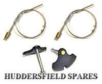 Handbrake cable kit