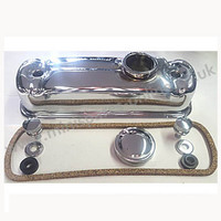 Bright chrome rocker cover kit