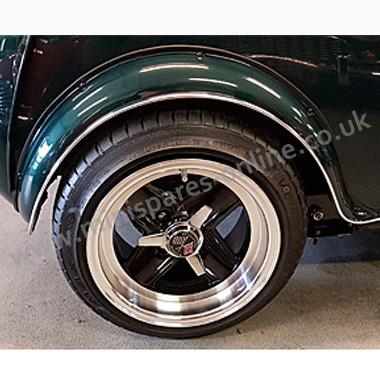 Wheel centre spinner