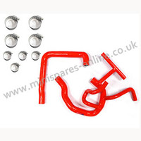 Red MPI silicone coolant hose kit