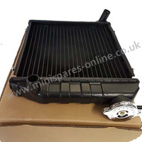 Radiator for Classic Mini Side mounted 64-92