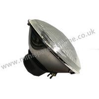 Standard Halogen Headlamps Convex Glass Pair for Classic Mini