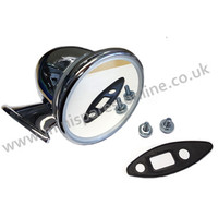 Standard type chrome bullet mirror EACH