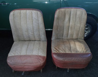 MK1 1959 original seats, used pair for classic Mini