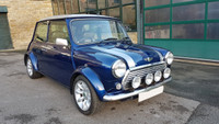 Classic Mini Cooper Sport, Tahiti Blue. Very original