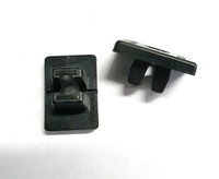 Classic Mini wiper motor bracket fixing clips pair