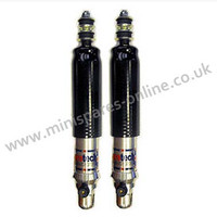 Rear Protech Alloy Adjustable Lowered shock absorber for classic Mini