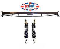 Lightweight Heavy Duty Rear subframe replacement beam axle and Protech Coil Over Shocker Kit