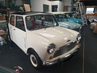 Cooper S 1071, fully restored