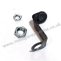 Genuine classic Mini bezel bracket (per side), good used condition. RIGHT HAND.