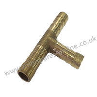 8mm Brass T-Piece