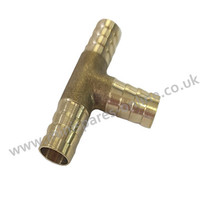 10mm Brass T-Piece