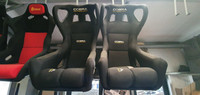 Genuine Cobra Technology Evolution race bucket seats, NEW OLD STOCK