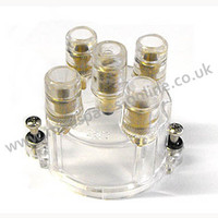 Clear distributor cap