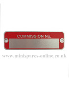 Commision chassis/engine plate for classic Mini LMG1018