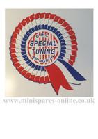 Special tuning rosette sticker transfer (body fix) for classic Mini LMG1063