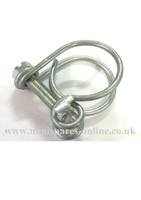 Wired hose clip (0.3/4-0.7/8) for classic Mini CS4014