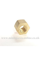 Short brass manifold nut 5/16 UNF GFK3436